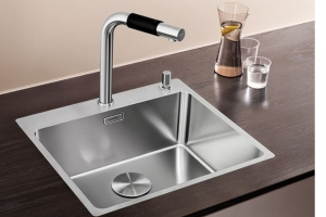 flush mounted sink